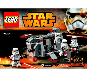 LEGO Imperial Troop Transport Set 75078 Instructions