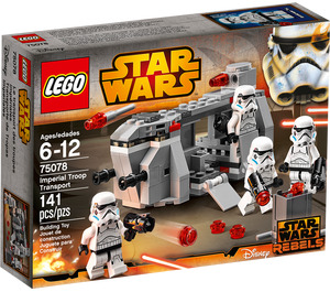 LEGO Imperial Troop Transport Set 75078 Packaging