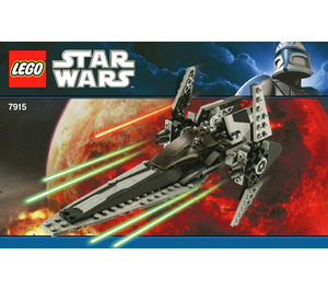 LEGO Imperial V-wing Starfighter Set 7915 Instructions