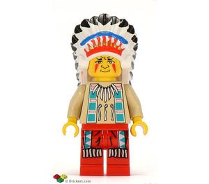 LEGO Indian Chief Minifigure