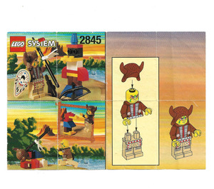 LEGO Indian Chief Set 2845 Instructions