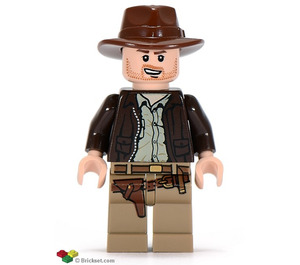 LEGO Indiana Jones with Open Mouth Grin Minifigure