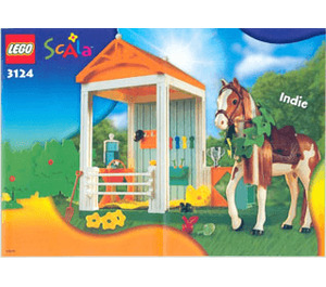 LEGO Indie's Stable Set 3124 Instructions