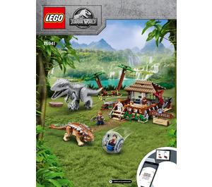 LEGO Indominus rex vs. Ankylosaurus Set 75941 Instructions