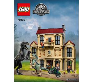 LEGO Indoraptor Rampage at Lockwood Estate Set 75930 Instructions