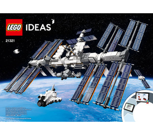 LEGO International Space Station Set 21321 Instructions