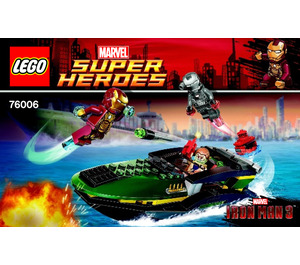 Lego iron man extremis sea port battle set 76006 - Lego iron man extremis sea port battle ...