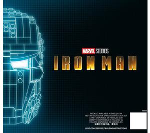 LEGO Iron Man Helmet Set 76165 Instructions