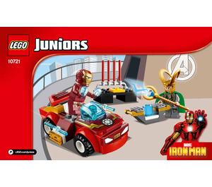 LEGO Iron Man vs. Loki Set 10721 Instructions