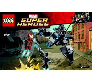 LEGO Iron Man vs. Ultron Set 76029 Instructions