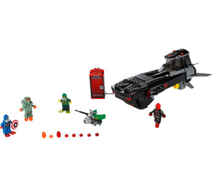 LEGO Iron Skull Sub Attack Set 76048