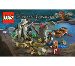 LEGO Isla De Muerta Set 4181 Instructions