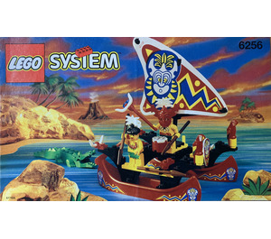 LEGO Islander Catamaran Set 6256 Instructions