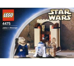 LEGO Jabba's Message Set 4475