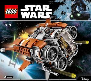 LEGO Jakku Quadjumper Set 75178 Instructions