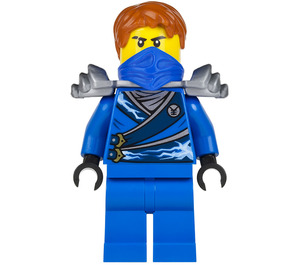 LEGO Jay - Rebooted with Silver Armor Minifigure