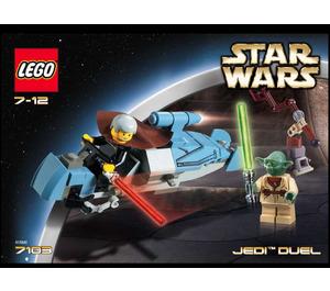 LEGO Jedi Duel Set 7103 Instructions