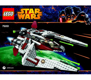 LEGO Jedi Hunter Frontier Set 75051 Instructions