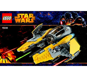 LEGO Jedi Interceptor Set 75038 Instructions