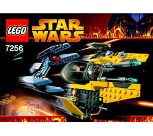 LEGO Jedi Starfighter and Vulture Droid Set 7256 Instructions