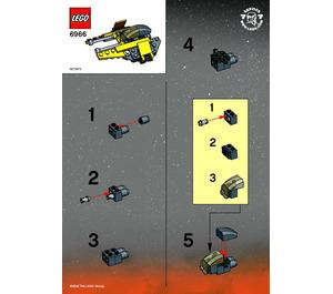 LEGO Jedi Starfighter Set 6966 Instructions
