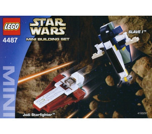 LEGO Jedi Starfighter & Slave I Set 4487