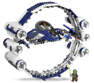LEGO Jedi Starfighter with Hyperdrive Booster Ring Set 7661