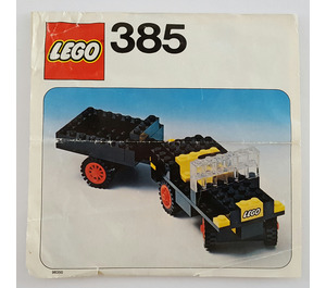 LEGO Jeep with Steering Set 385-1 Instructions