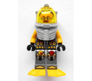 LEGO Jeff Fisher Diver Minifigure