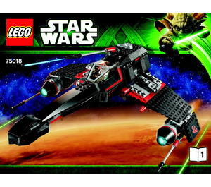 LEGO JEK-14's Stealth Starfighter Set 75018 Instructions