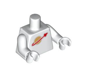 LEGO Jenny Minifig Torso (973 / 76382 / 88585)