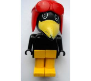 LEGO Joe Crow with Black Eyes Fabuland Figure