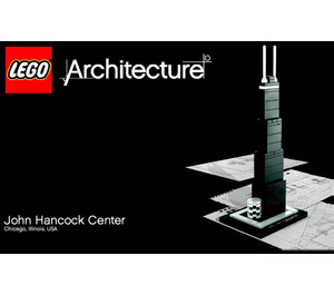 LEGO John Hancock Center Set 21001 Instructions