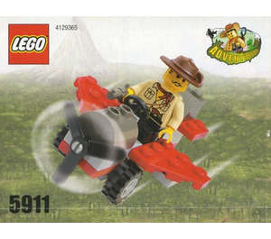 LEGO Johnny Thunder's Plane Set 5911