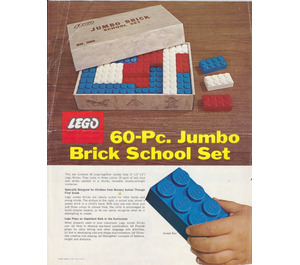 LEGO Jumbo Brick School Set 060-3