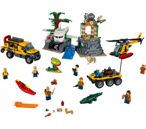 LEGO Jungle Exploration Site Set 60161