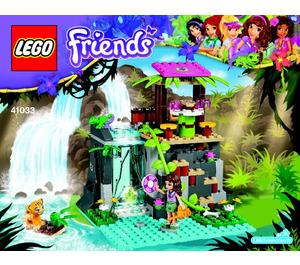 LEGO Jungle Falls Rescue Set 41033 Instructions