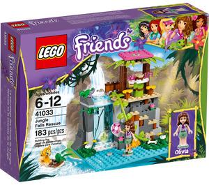 LEGO Jungle Falls Rescue Set 41033 Packaging