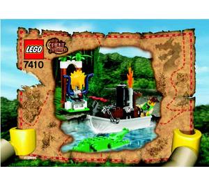 LEGO Jungle River Set 7410 Instructions
