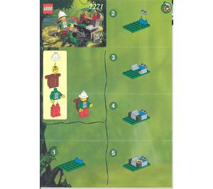 LEGO Jungle Surprise Set 1271-1 Instructions