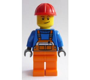 LEGO Juniors Demolition Site Worker Minifigure