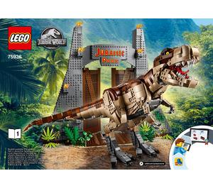 LEGO Jurassic Park: T. Rex Rampage Set 75936 Instructions