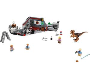 LEGO Jurassic Park Velociraptor Chase  Set 75932