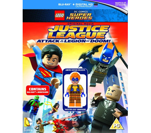 LEGO Justice League: Attack of the Legion of Doom DVD/Blu-ray (DCSHDVD2)