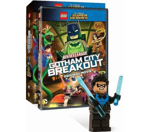 LEGO Justice League: Gotham City Breakout DVD/Blu-ray (DCSHDVD4)