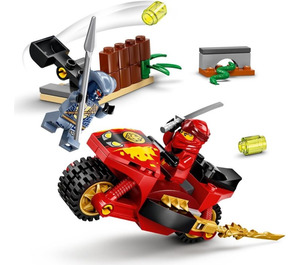 LEGO Kai's Blade Cycle Set 71734