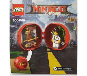 LEGO Kai's Dojo Pod Set 5004916 Instructions