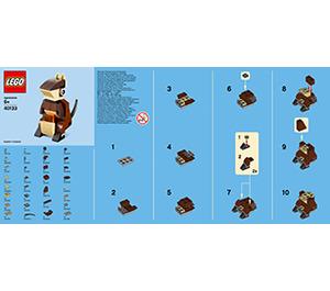LEGO Kangaroo Set 40133 Instructions