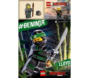 LEGO Kendo Lloyd Set 30608 Instructions