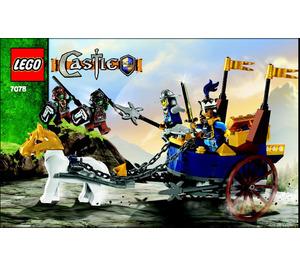 LEGO King's Battle Chariot Set 7078 Instructions